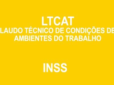 Laudo Técnico de Condições de Ambiente do Trabalho (LTCAT)